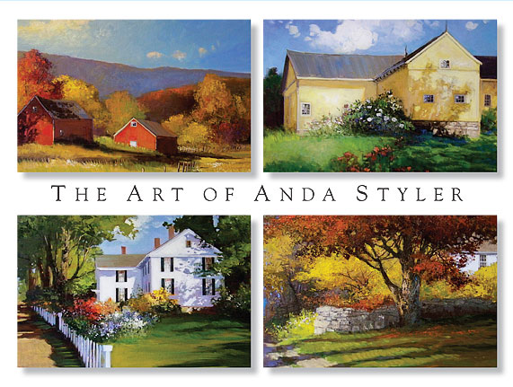 Anda Styler | River Road Gallery | Wilton CT